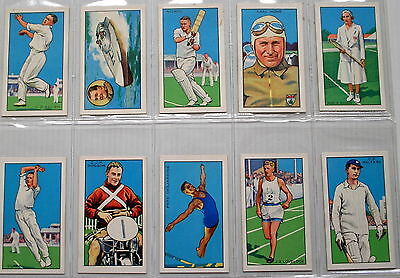 Full Set Gallaher Champions 2nd series 1935  in sleeves