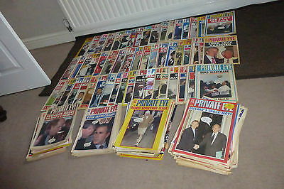 Job lot of Private Eye Magazines (823E)