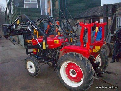 Jinma 254 Compact Tractor With 4In 1  Foreloader