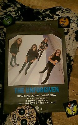 Metallica The Unforgiven poster