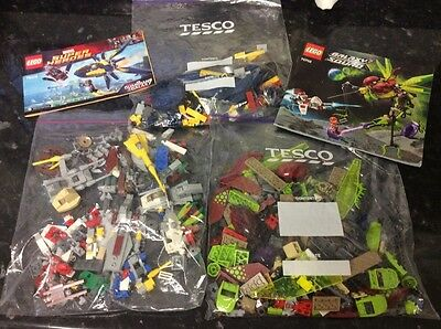 Joblot Of Lego. Marvel Super Heroes And Two Sets Of Galaxy Squad