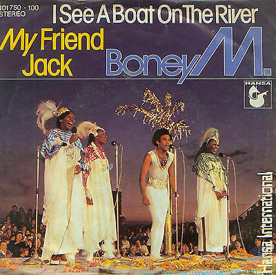 """BONEY M. - I see a boat on the river - 7"""" Single"""