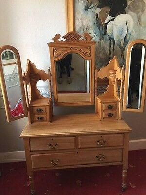 Antique Pine Dressing Table - Lovely Item