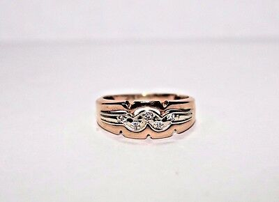 583 (USSR) Russian Rose Gold 14k Ring