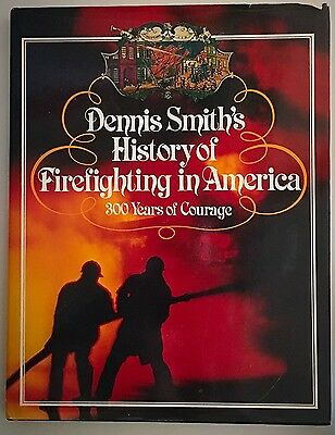 4 Fire Books Lot Dennis Smith History Firefighting F.D.N.Y Handbook New York ++