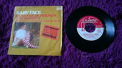 "Wing And A Prayer Fife And Drum Corps ‎– Baby Face , Vinyl, 7"",1975 , Spain"