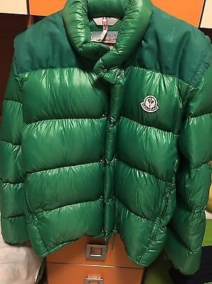 Moncler Grenoble Piumino Tg 3 XL  Vintage Anni 80  Verde Lucido