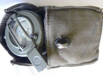 Genuine Vintage Stanley of London Military Compass 418207 * 6605-99-537-9034