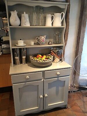 french grey kitchen dresser