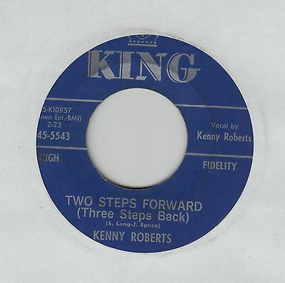"KENNY ROBERTS Two Steps Forward (Three Steps Back) USA 7"" EX Cond"