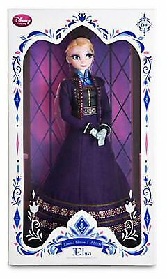 elsa doll limited edition 5000 disney store 17""