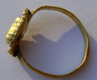 old medieval gold ring