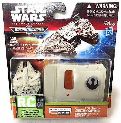 Star Wars The Force Awakens Micro Machines Millennium Falcon Rc Remote Control