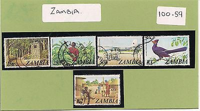 100-S9.    5.Stamps.      ZAMBIA