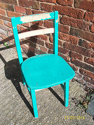 Childs Old School Chair .Wooden constuction