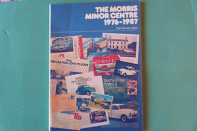 the morris minor centre  the first ten years   book