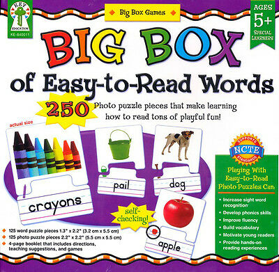 Big Box of Easy-to-Read Educational Board Game By Sherrill B. Flora