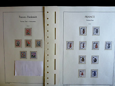 lot de timbres taxe de France de 1964 à 1983