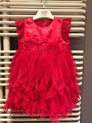 Baby Girls Party  Dress�� Age9-12 m ��Xmas Party VGC
