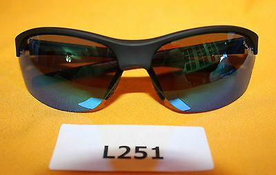 Tifosi Sunglasses, Wasp, Matte Black Polybag and Blue,  NEW  L251