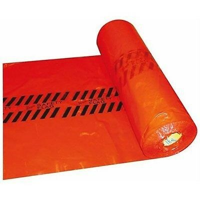 """Warp's Red Safety Flags 18"""" x 18"""" -500 per Roll"""