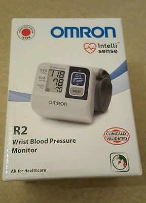 Digital Wrist Blood Pressure Monitor Omron R2 boxed with manual