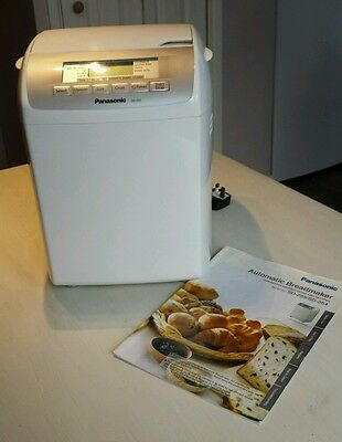 Panasonic Automatic Breadmaker - with instructions and recipes