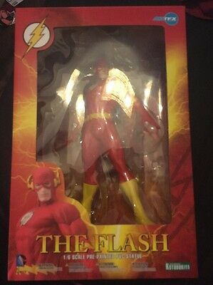OFFICIAL NEW DC The Flash 1/6 Pre-painted PVC ARTFX Statue