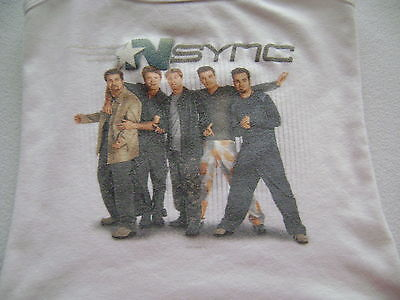 NSYNC Memorabilia Tank Top Youth Size Medium