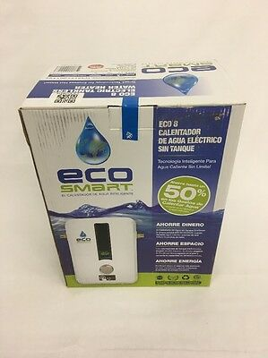 ECO SMART 8  kW Self-Modulating 1.55 GPM Electric Tankless Water Heater
