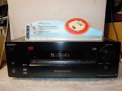 Sony STR-DB780QS Great Home Cinema Receiver With Remote-Superb Sound.