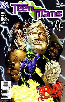 Teen Titans (2003) #36 (Dc Comics) One Year Later / Doom Patrol