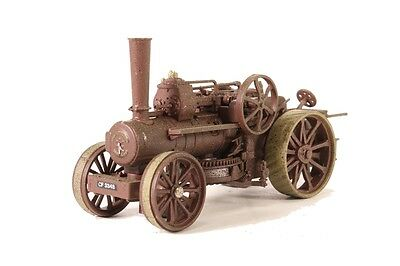 Oxford Diecast Fowler Ploughing Engine Rusty Dorset Scale (Suit HO also)