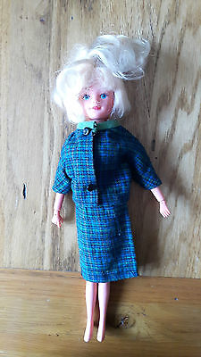 Vintage Grow Hair Tressy Doll & Branded Clothing Outfit, 1960s