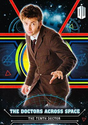 Doctor Who Extraterrestrial Encounters - Doctors Chase Trading Card Set