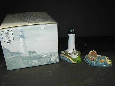 Harbour Lights, 2000 Round Island, Then & Now, Ms #242  With Box