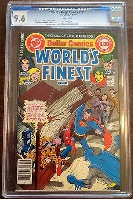 World's Finest #252 CGC 9.6 NM+ DC 1978 White Pages Jim Aparo Cover