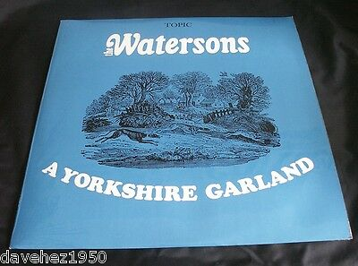 THE WATERSONS. A YORKSHIRE GARLAND. 1966 Mono Folk LP. Topic 12T167. Plays EX