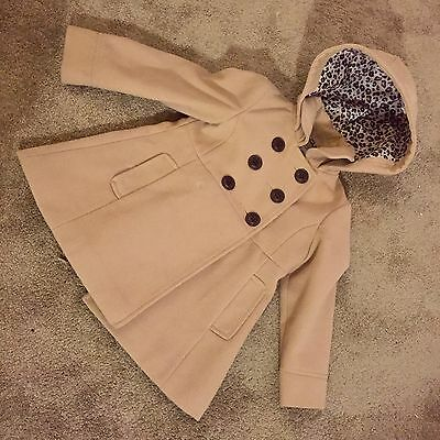 Girls Camel Coat NEXT 3-4 Years