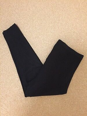 NEW LOOK Maternity Black Leggings size 16 over the bump