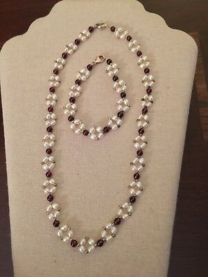 Honora Pearl Necklace and Bracelet Set