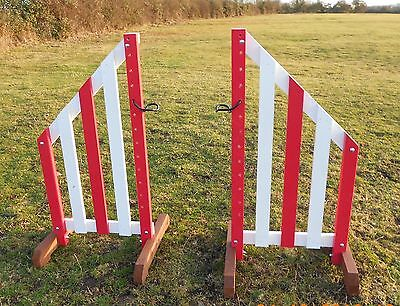 4ft HORSE JUMP WINGS c/w 1 pair of cups