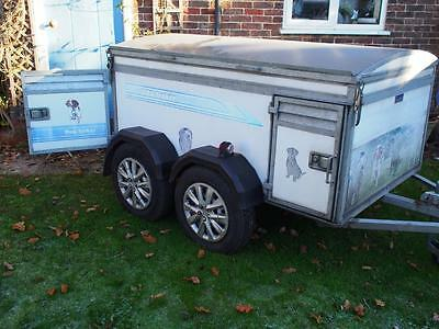 Dog trailer by Dog Trekker, 4 berth