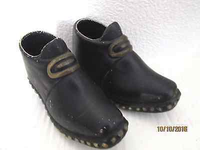 A Pair  of old Miniature Clog Boots