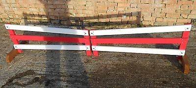 PAIR OF HORSE JUMP FILLERS ( 2 x 4ft  to make 8ft )