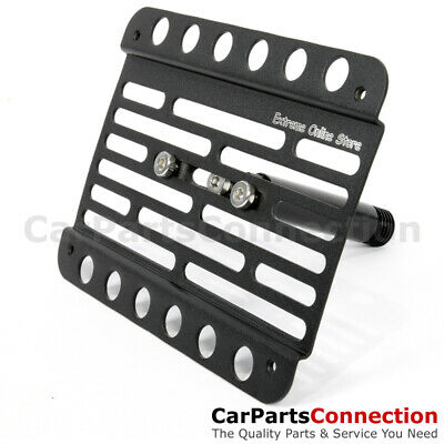 Boxster NO PDC 13-16 981 Multi Angle Tow Hook Mount License Plate Bracket
