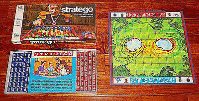 Vintage 1977 Milton Bradley Stratego Board Game *Complete- NICE *Fast Shipping!