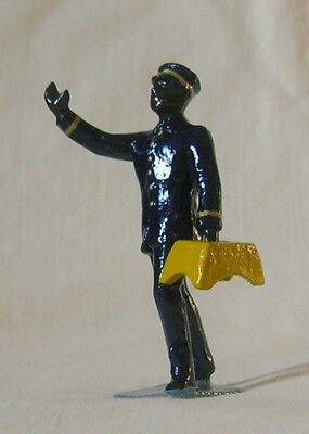Train Porter with Stepstool, Standard Gauge figure for Lionel, Ives, Dorfan