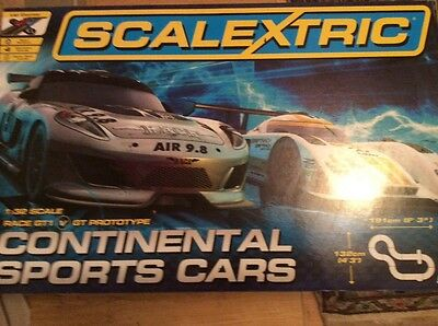 Scalextric Continental Sports Cars Set Race