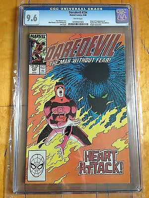 CGC 9.6 Daredevil #254 *White Pages*Origin & 1st App. Typhoid Mary*
